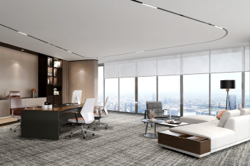 Efficient private office plan