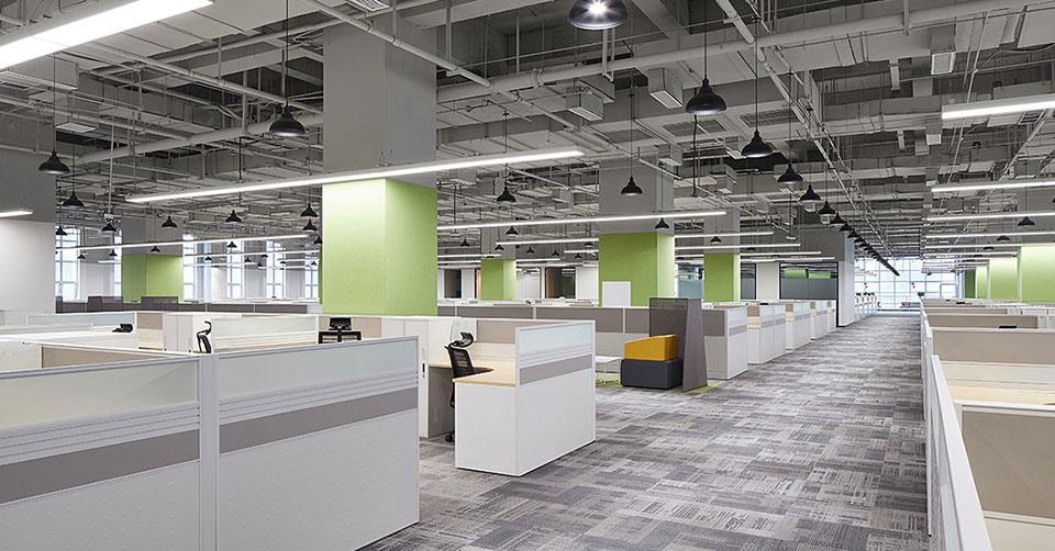 圣奥为华为定制的西安研究院办公空间