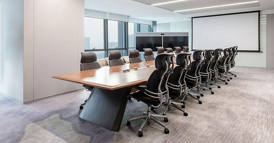 圣奥为腾讯定制的会议空间