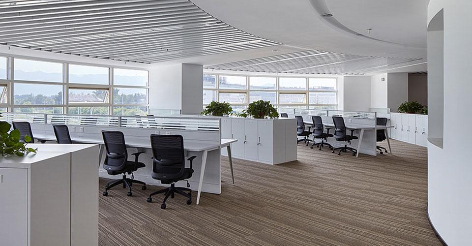 圣奥为建设银行创意定制的职员空间