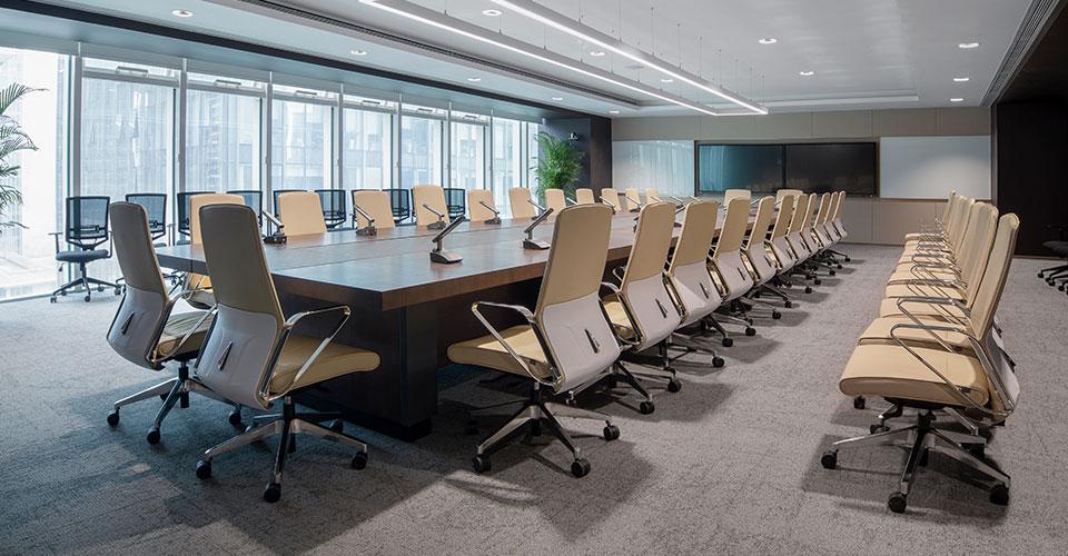 圣奥为招商银行定制的会议空间