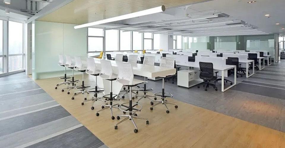 圣奥为富士康定制的职员空间